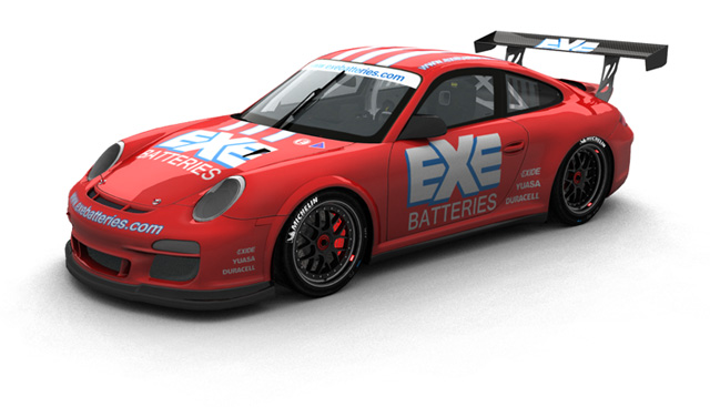 Exe Batteries Porsche Race Car